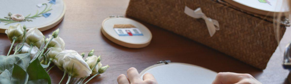 Od czego zacząć haftować? Cz. III – Ścieg łańcuszkowy, węzełkowy, sznureczkowy i inne